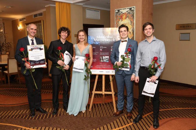 Four students of the Liszt Academy performed in Warsaw