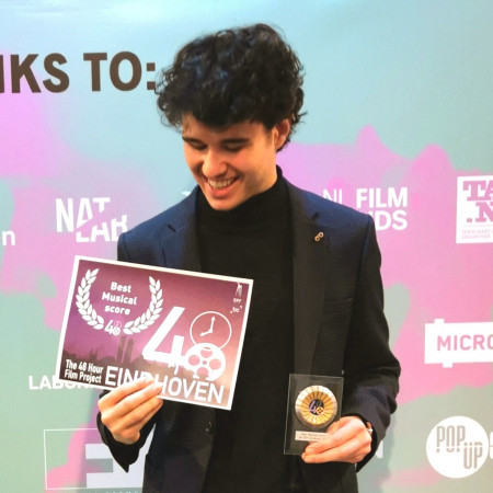 Milán Hodován wins award for best film score at the 48 Hour Film Project Competition