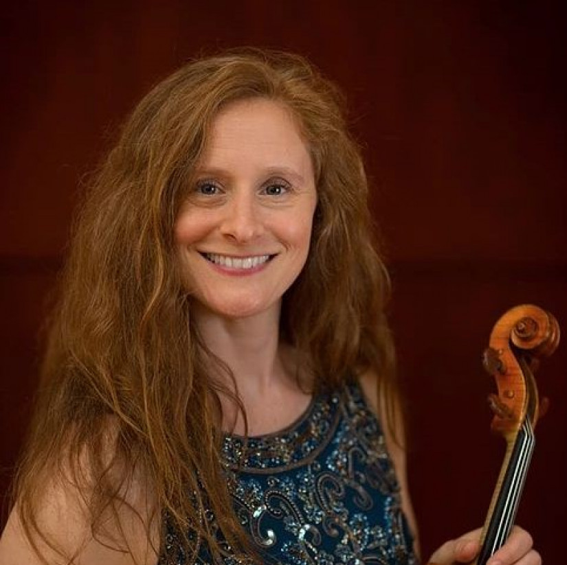 Viola master class by Sheila Browne