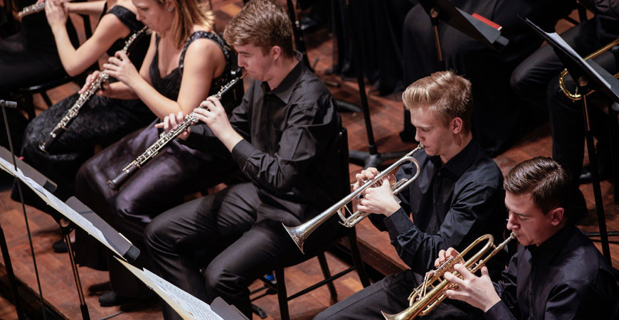 Symphony Orchestra and Woodwind Orchestra of the Bartók Conservatoire